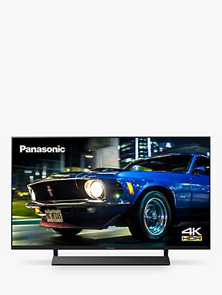 Panasonic TX-40HX820B (2020) LED HDR 4K Ultra HD Smart TV, 40 inch with Freeview Play & Dolby Atmos, Black