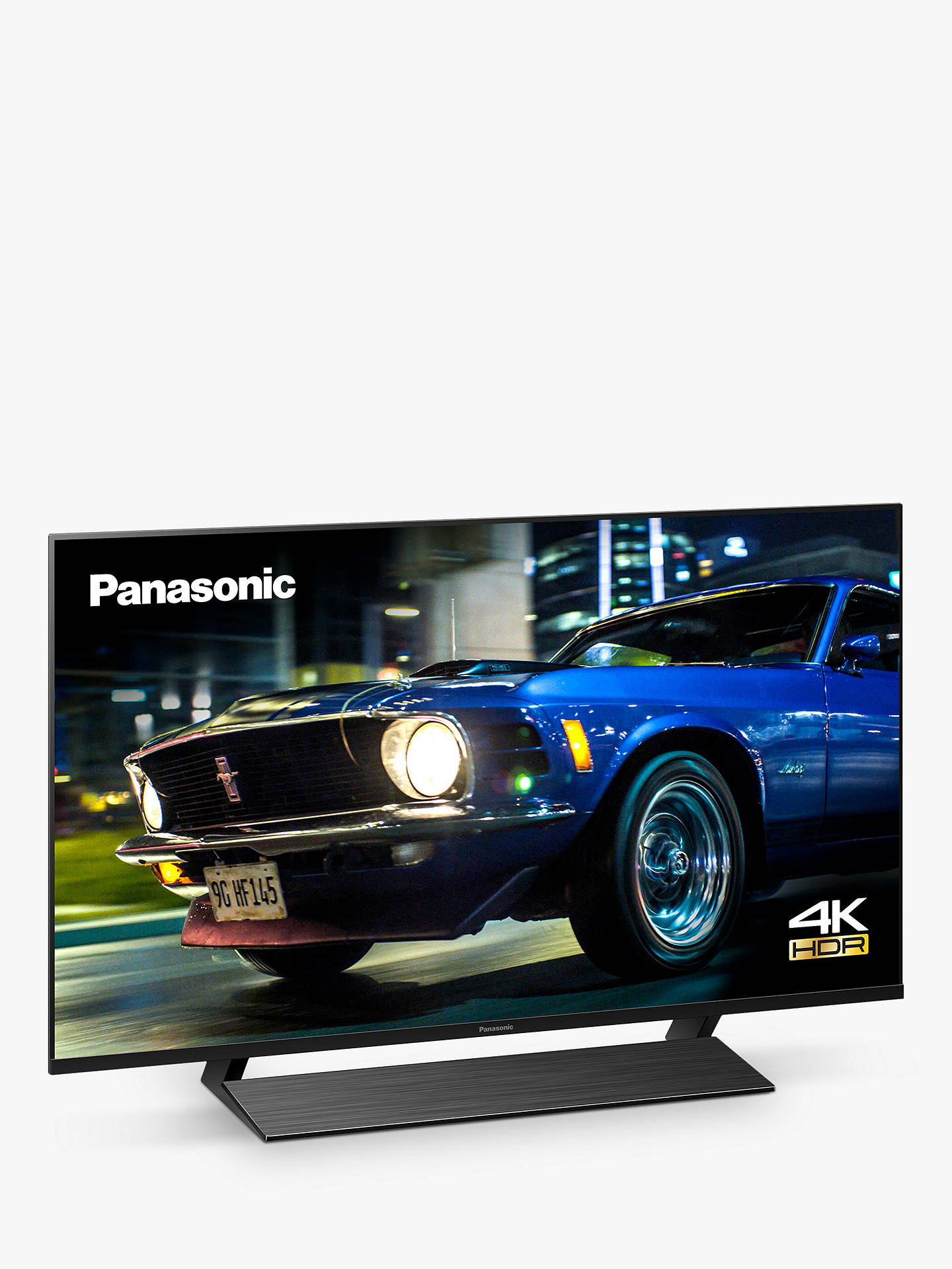 Buy Panasonic TX-40HX820B (2020) LED HDR 4K Ultra HD Smart TV, 40 inch with Freeview Play & Dolby Atmos, Black Online at johnlewis.com