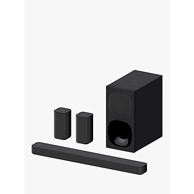 Image of Sony HT-S20R Bluetooth Sound Bar with Subwoofer and Rear Speakers, Black