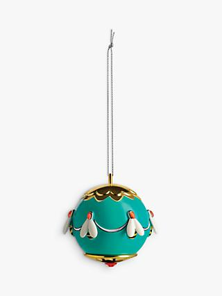 Alessi Gold Bee Christmas Bauble