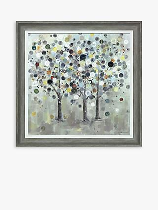Ulyana Hammond - Roots of Time Framed Canvas, 52 x 52cm, Multi