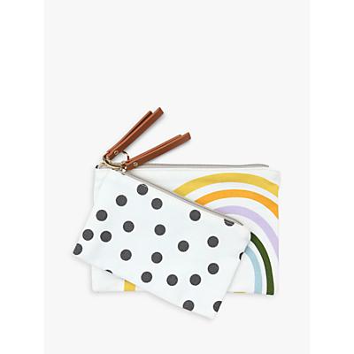 Product photo of Caroline gardner canvas pouch set