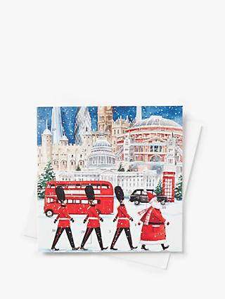 Art File London Scene Advent Calendar Card