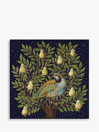 John Lewis & Partners Partridge In A Pear Tree Advent Calendar Christmas Card