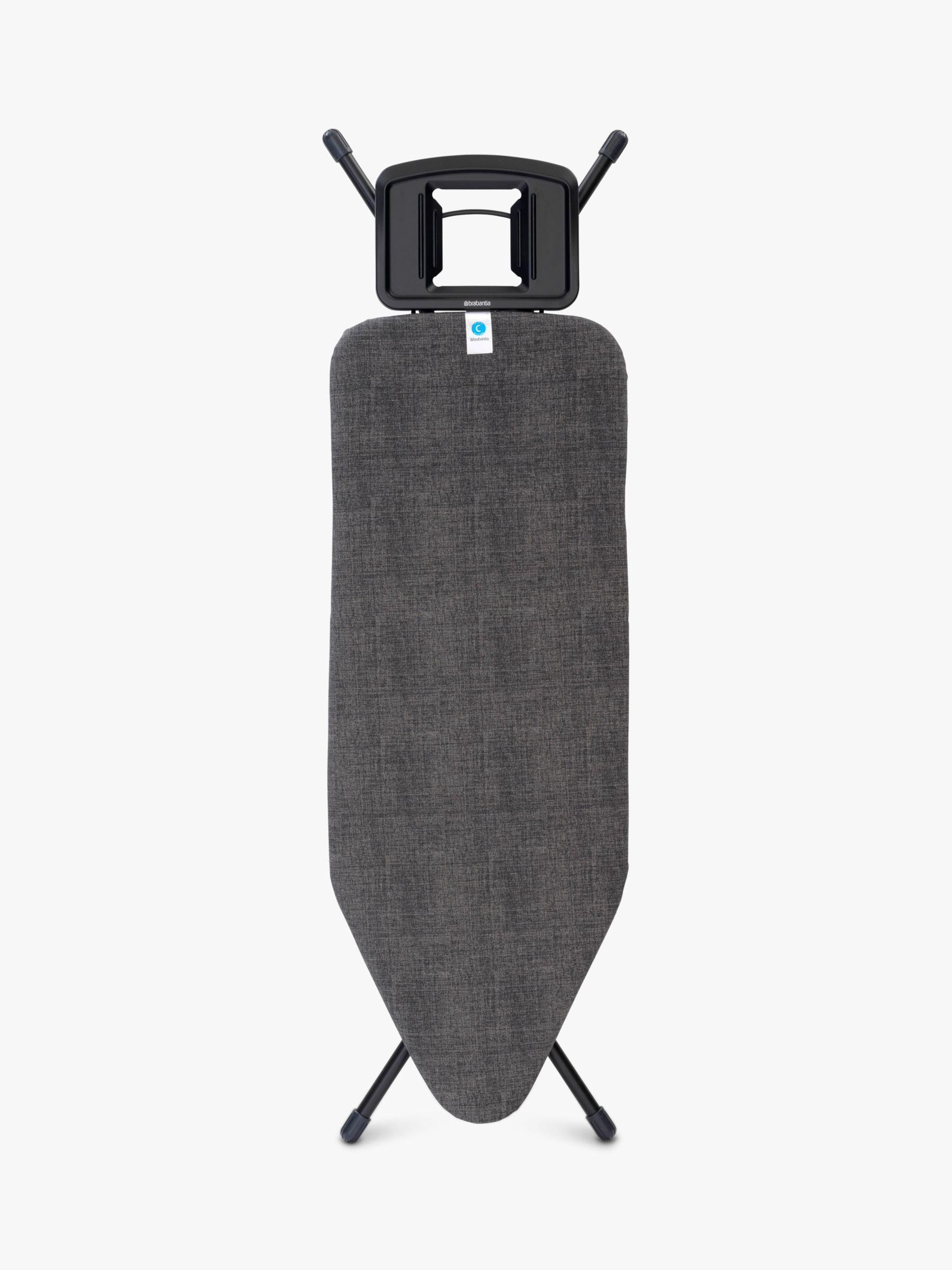 Brabantia Extra Large Ironing Board, Denim Black, L124 x W45cm