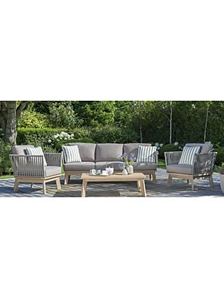 KETTLER Adelaide Garden Table & Chairs 5-Seater Lounging Set, FSC-Certified (Eucalyptus Wood), Natural