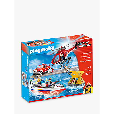Click here for Playmobil City Action 9319 Fire Rescue Mission