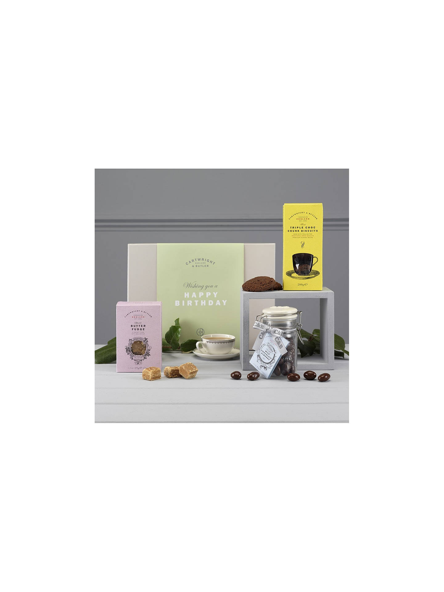 Cartwright Butler Happy Birthday Gift Box At John Lewis Partners