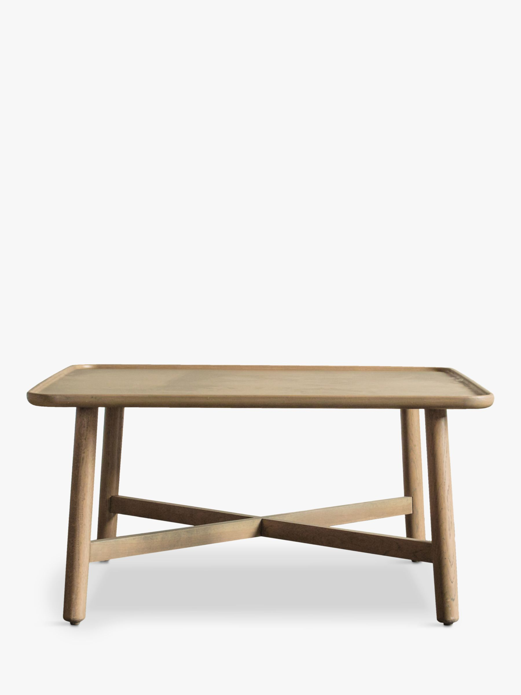 Gallery Direct Kingham Square Coffee Table, Oak