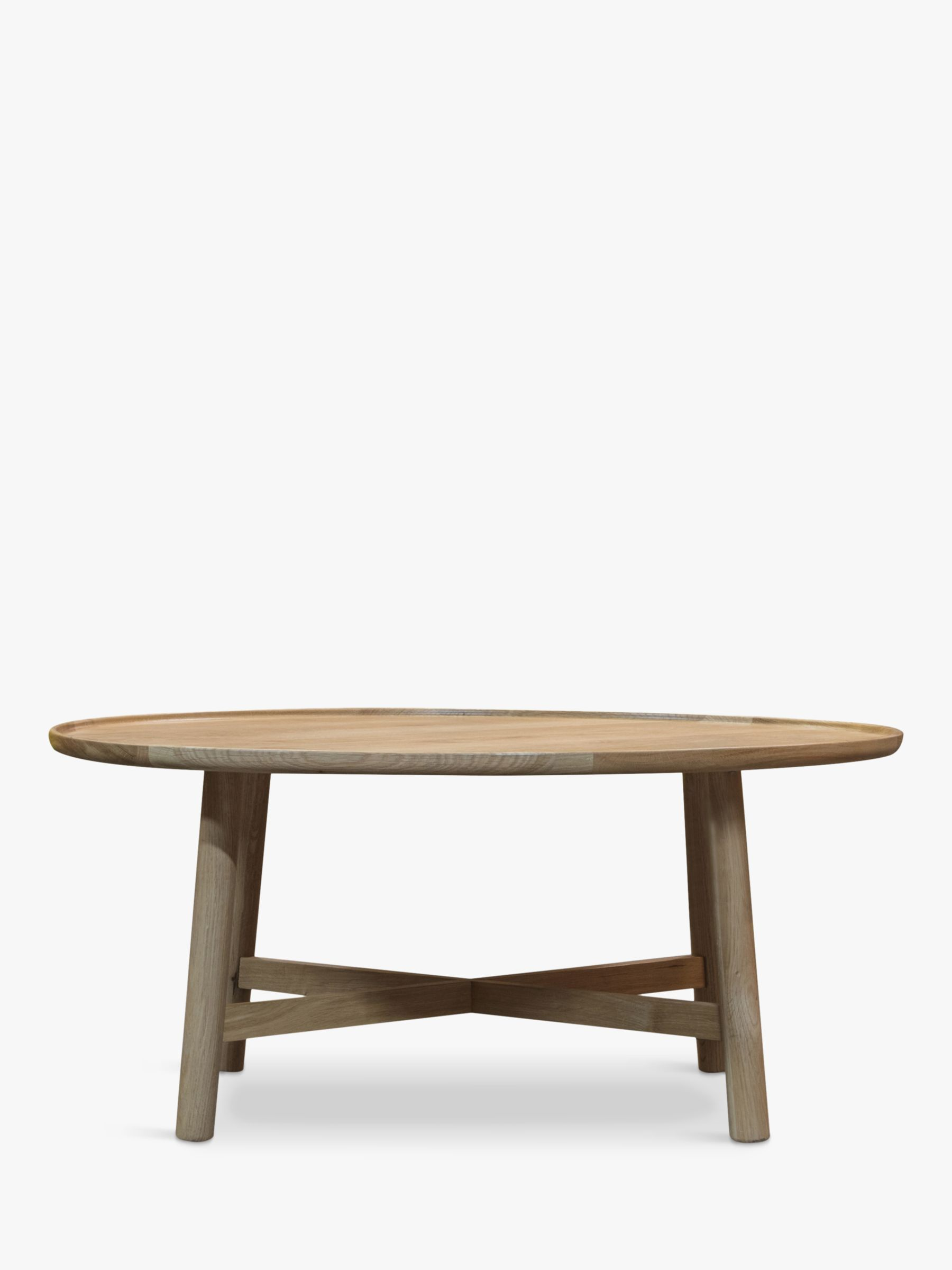 Gallery Direct Kingham Round Coffee Table, Oak