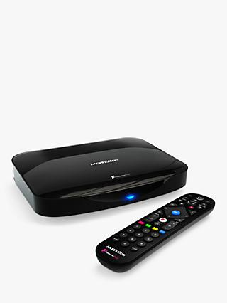 Manhattan T3-R HDR 4K Ultra HD Smart Freeview Play TV Recorder, 500GB, Black