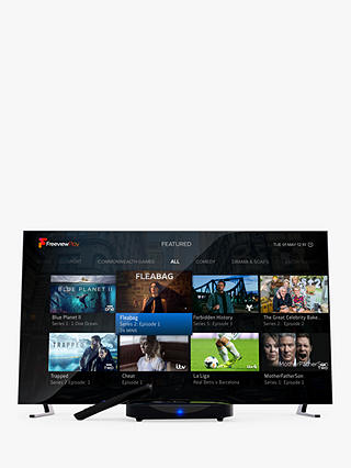 Buy Manhattan T3-R HDR 4K Ultra HD Smart Freeview Play TV Recorder, 500GB, Black Online at johnlewis.com