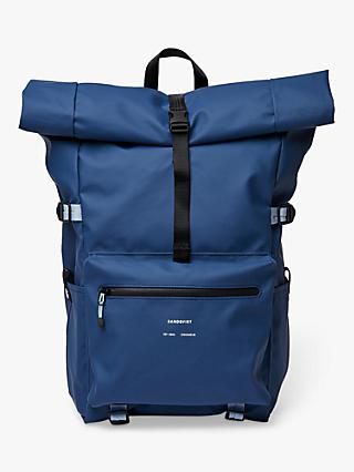 Sandqvist Ruben Recycled Rolltop Backpack