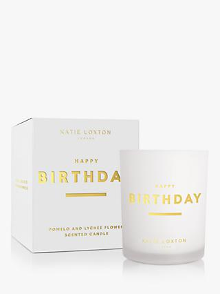 Katie Loxton Happy Birthday Scented Candle, 352g