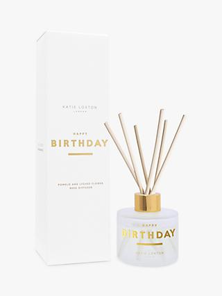 Katie Loxton Happy Birthday Reed Diffuser, 100ml