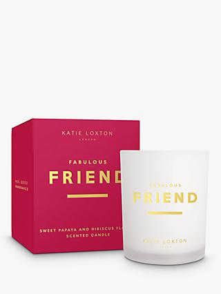 Katie Loxton Fabulous Friend Scented Candle, 352g