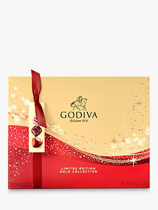 Godiva Limited Edition Christmas Gift Box, 20 Pieces, 300g