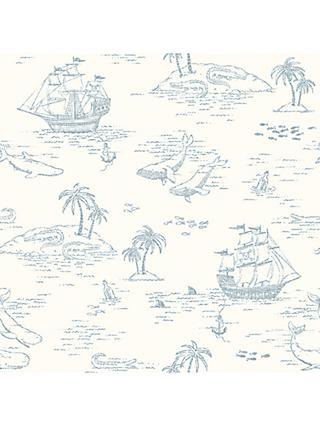 Boråstapeter Treasure Island Wallpaper