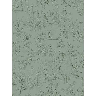 Image of Boråstapeter Forest Friends Wallpaper
