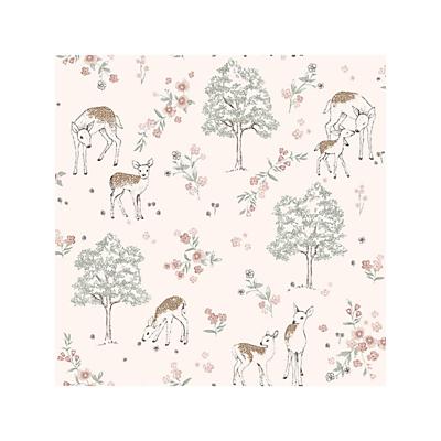 Image of Boråstapeter Deer Love Wallpaper
