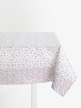 John Lewis & Partners Winter Berry Paper Tablecloth