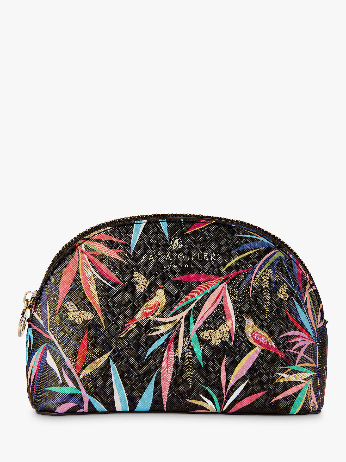Sara Miller Bamboo Garden Makeup Bag At