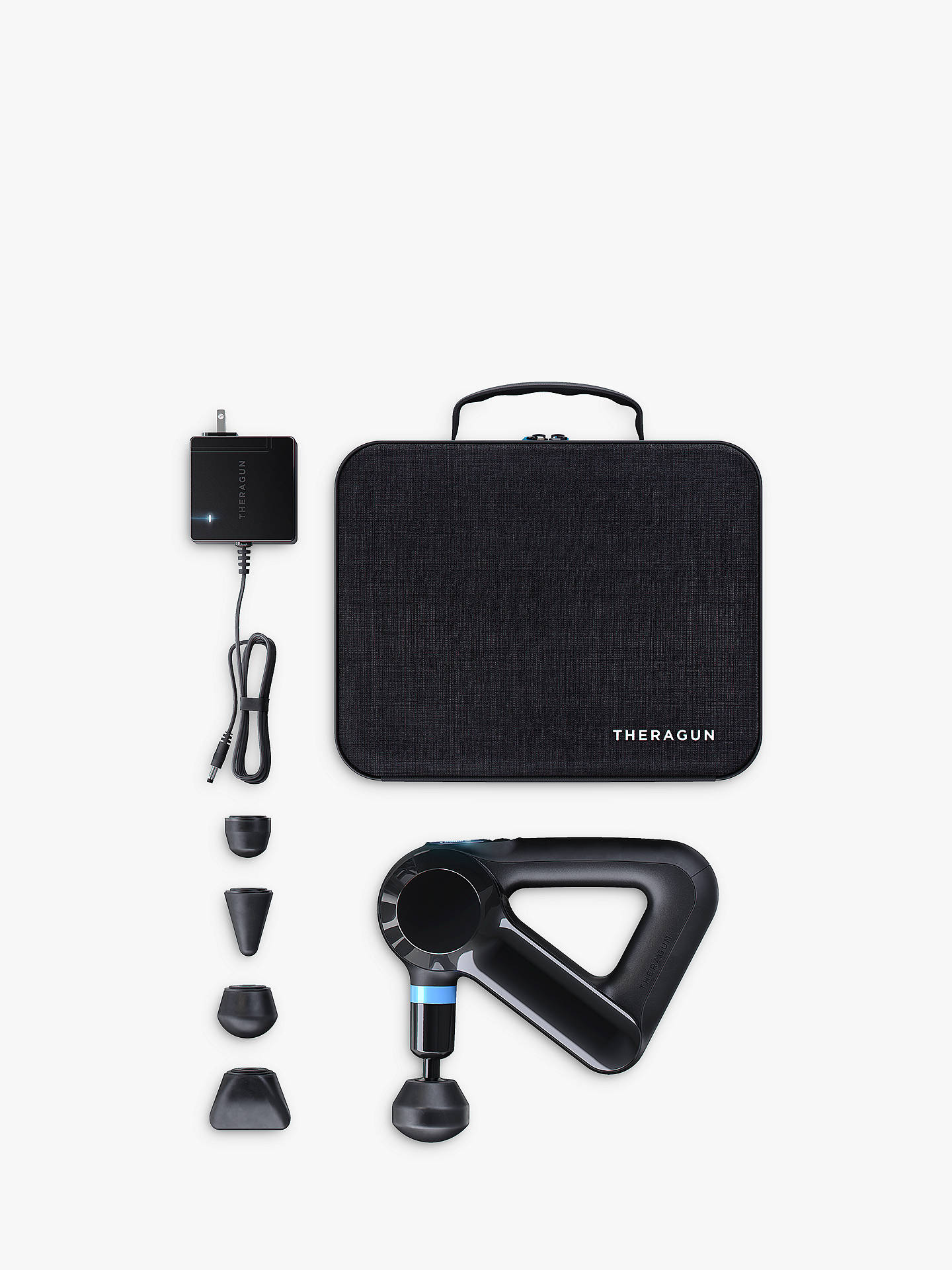 Buy Theragun Elite 4th Generation Percussive Therapy Massager, Black Online at johnlewis.com