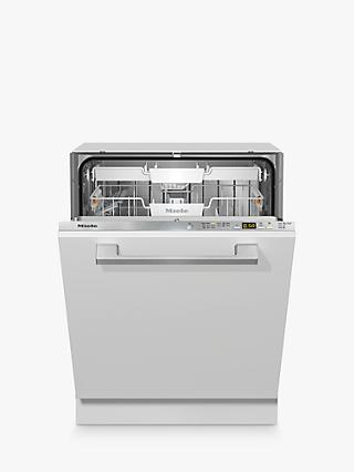 Miele G5050 SCVi Integrated Dishwasher, A++ Energy Rating, Clean Steel