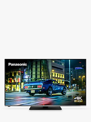 Panasonic TX-50HX585B (2020) LED HDR 4K Ultra HD Smart TV, 50 inch with Freeview Play, Black