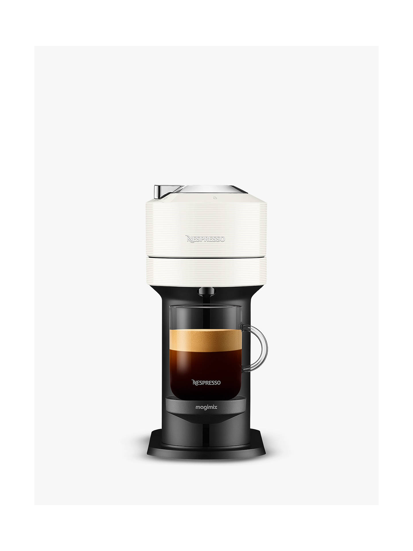 Buy Nespresso Vertuo Next Coffee Maker by Magimix, White Online at johnlewis.com