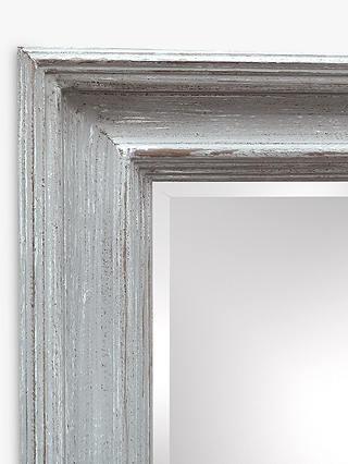 Sheringham Full Length Wood Frame Wall Mirror 136 X 57cm Smoke