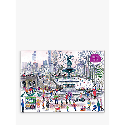 Image of Galison Bethesda Fountain Jigsaw Puzzle, 1000 Pieces