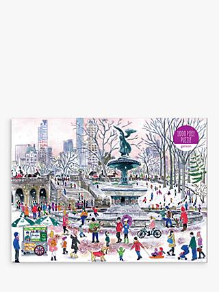 Galison Bethesda Fountain Jigsaw Puzzle, 1000 Pieces