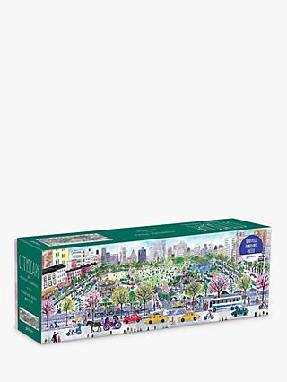 Galison Panoramic Cityscape Jigsaw Puzzle, 1000 Pieces