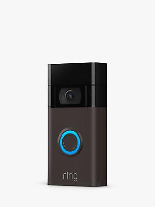 Ring Smart Video Doorbell 2nd Generation with Built-in Wi-Fi & Camera