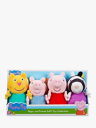 Peppa Pig Peppa & Friends Soft Toy Collection