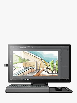 "Lenovo YOGA A940 F0E50043UK All-in-One Desktop PC, Intel Core i7 Processor, 16GB RAM, 1TB HDD + 1TB SSD, 27"" Ultra HD, Black"