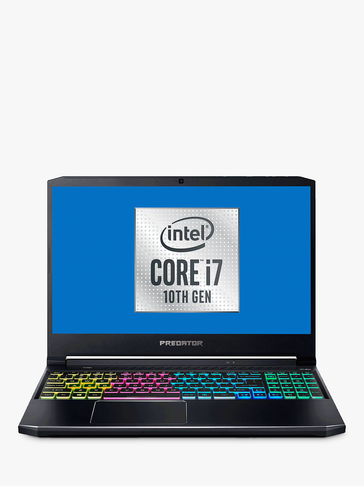 Acer Predator Helios 300 Gaming Laptop Intel Core I7 Processor 16gb Ram 512gb Ssd Geforce Rtx 2060 15 6 Full Hd Grey Dark At John Lewis Partners