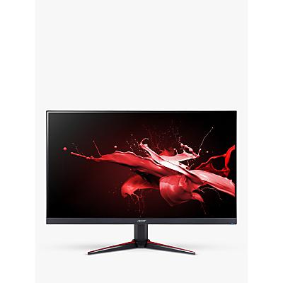 Acer Nitro VG240Ybmiix Full HD Monitor, 23.8, Black/Red