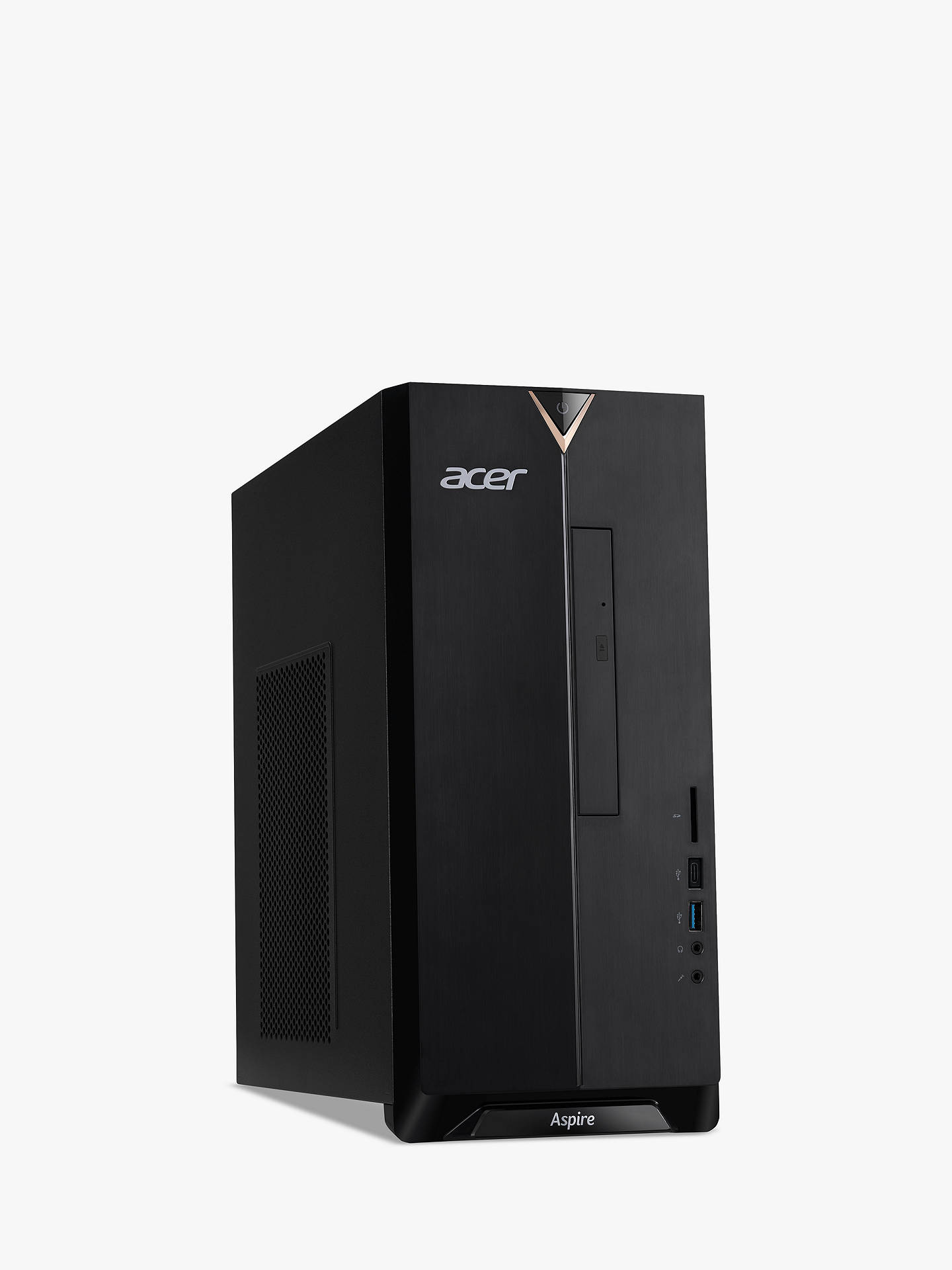 Buy Acer TC-895 Desktop PC, Intel Core i7 Processor, 8GB RAM, 1TB HDD + 16GB Intel Optane Memory, Black Online at johnlewis.com