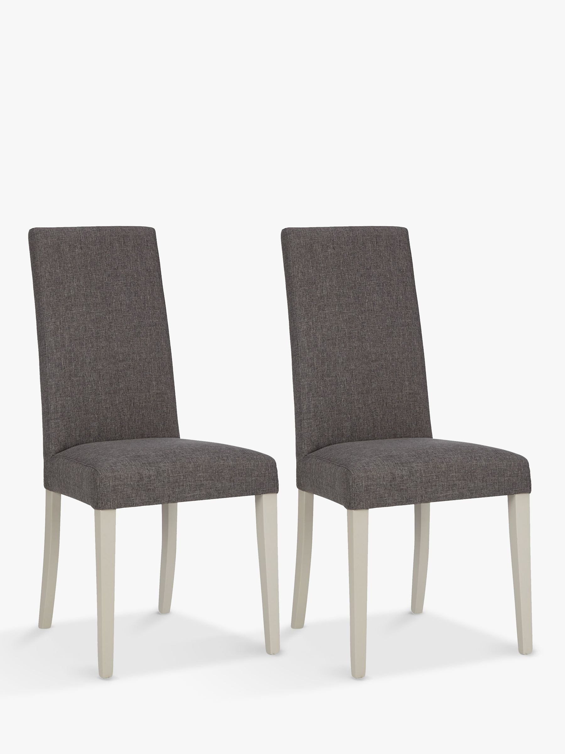 ANYDAY John Lewis & Partners Alba Lydia Dining Chairs, Set of 2, FSC-Certified (Beech Wood), Soft Grey