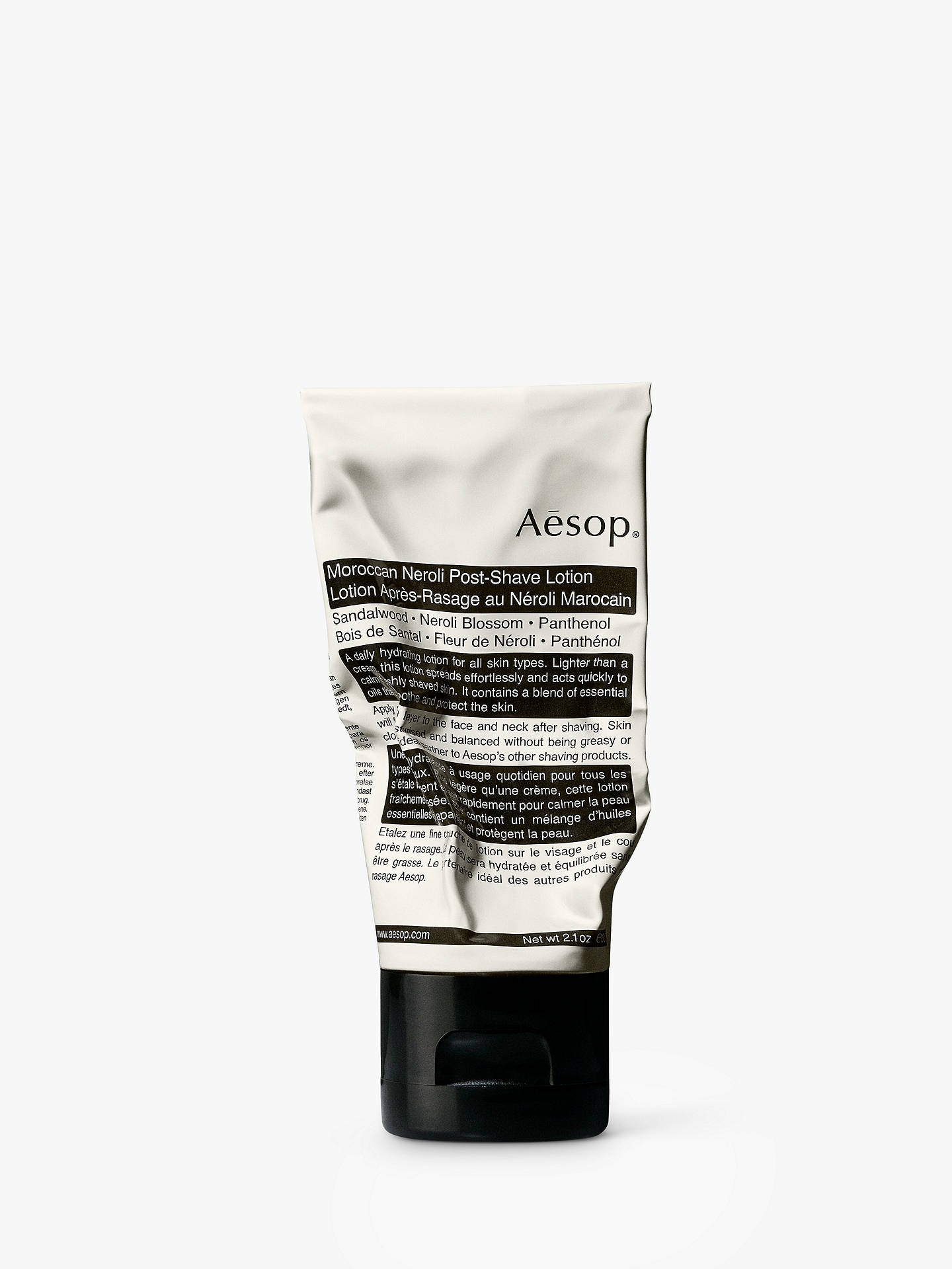 Buy Aesop Moroccan Neroli Post-Shave Lotion, 60ml Online at johnlewis.com