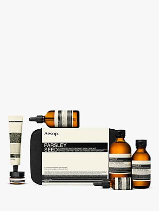 Aesop Parsley Seed Deluxe Kit Skincare Gift Set
