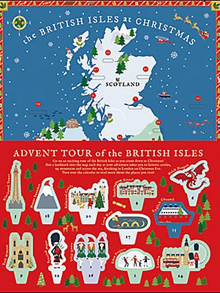 Woodmansterne The British Isles at Christmas Advent Calendar