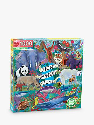eeBoo Planet Earth Jigsaw Puzzle, 1000 Pieces
