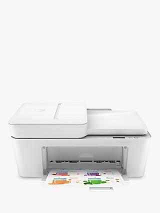 HP Deskjet Plus 4120 All-In-One Wireless Printer, HP Instant Ink Compatible with 3 Months Trial, White