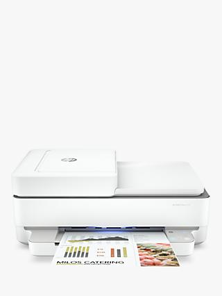 HP ENVY Pro 6430 All-In-One Wireless Printer, HP Instant Ink Compatible with 4 Months Trial, White