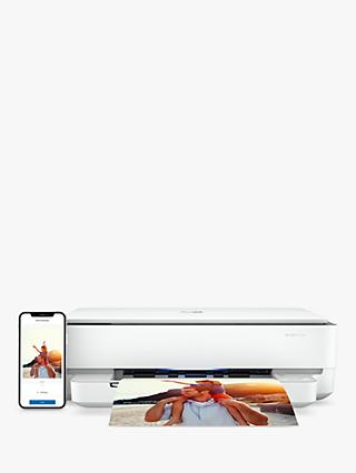 HP ENVY 6030 All-In-One Wireless Printer, HP Instant Ink Compatible with 4 Months Trial, White