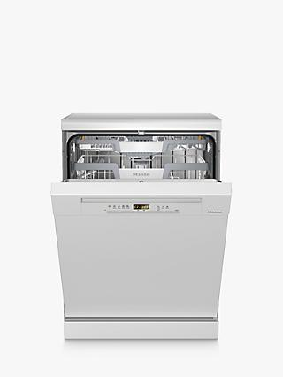 Miele G5223SC Freestanding Dishwasher, White