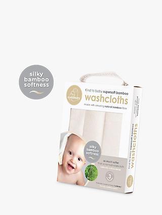 Cuddledry Bamboo Washcloth Set